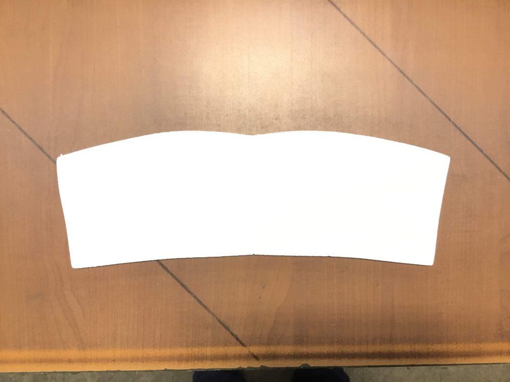 Mousse laminé 3-16 blanc