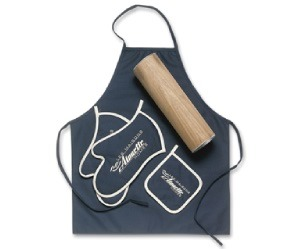 Black Apron kit with mitts from Tex-Fab