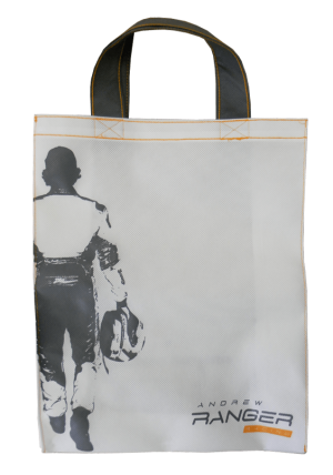Custom Printed tote bag Andrew Ranger - Tex-Fab