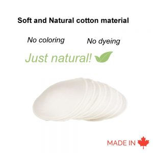 Reusable Molded Nursing Pads Natural- Ranger Molding Manufacturer