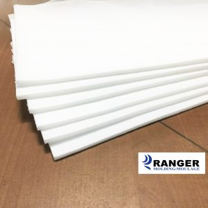 Laminated foam 3-16 white