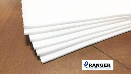 Laminated foam 3-16 white
