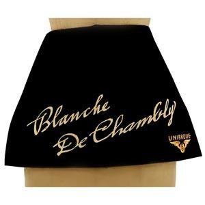 Tablier court personnlisé - Blanche de chambly- Tex-Fab