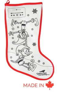 Bas de Noel colorable - Fabricant Tex-Fab -44-6545