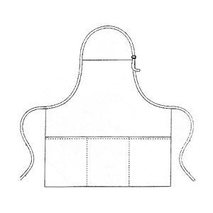 Custom Kitchen Apron - Tex-Fab manufacturer - 44-9352