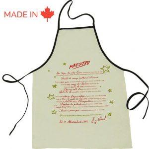 Custom Kitchen Apron - Tex-Fab Manufacturer - 44-9255