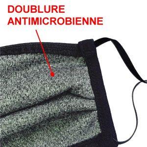 Couvre-visage coton antimicrobien - Groupe Ranger - Afnor